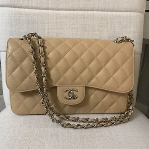 Authentic New Chanel Double Flap